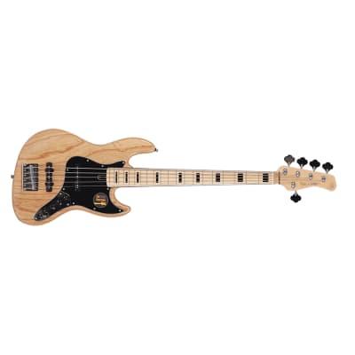 Sire Marcus Miller V7 Vintage 2nd Gen Bass, 5-String, Swamp Ash, NT Natural, Bag
