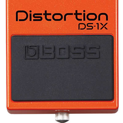Boss DS-1X Distortion Special Edition BOSS Pedal Effect with Premium Tone for sale