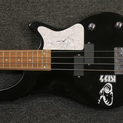 Gene Simmons Signed Rogue  4-String Bass with COA