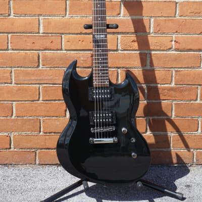ESP Viper-10 Basswood Black Electric Guitar