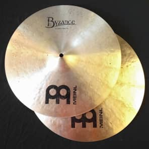 "Meinl 16"" Byzance Traditional Medium Hi-Hat"