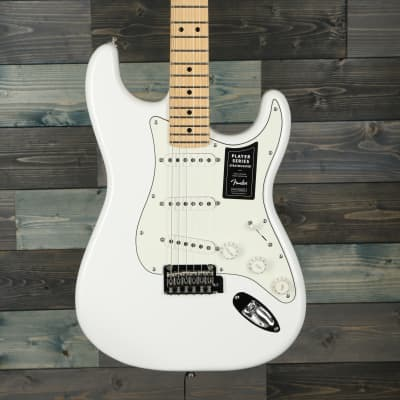 Fender Player Stratocaster®, Maple Fingerboard, Polar White for sale