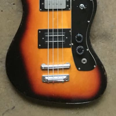 RARE Klira Kentucky Bass 1965 Sunburst for sale