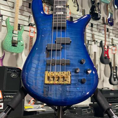 Spector Euro4 LT Blue Fade Gloss 4 String Bass w/ Gig-Bag + Free Shipping, Auth Dealer