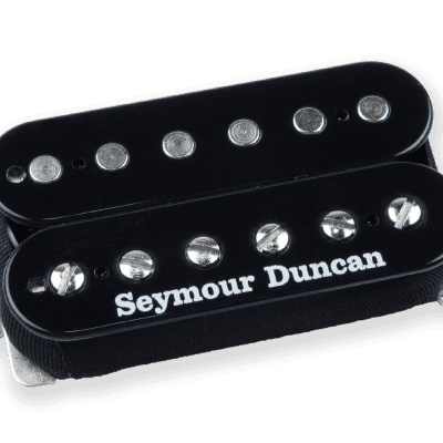 Seymour Duncan SH-6b Duncan Distortion Humbucker Black Cover