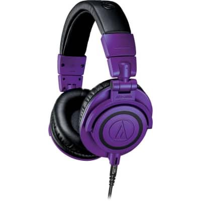 Audio-Technica ATH-M50x Monitor Headphones Limited Edition (Purple & Black)