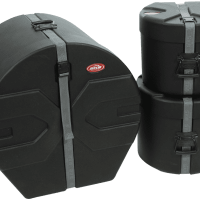 SKB Cases: Drum Package 1 - Includes: D1822, D0912, D1214 - 1SKB-DRP1