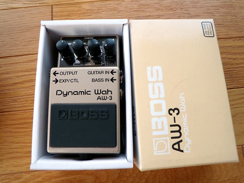 boss aw 3 dynamic wah pedal wah and envelope filter pedal reverb. Black Bedroom Furniture Sets. Home Design Ideas
