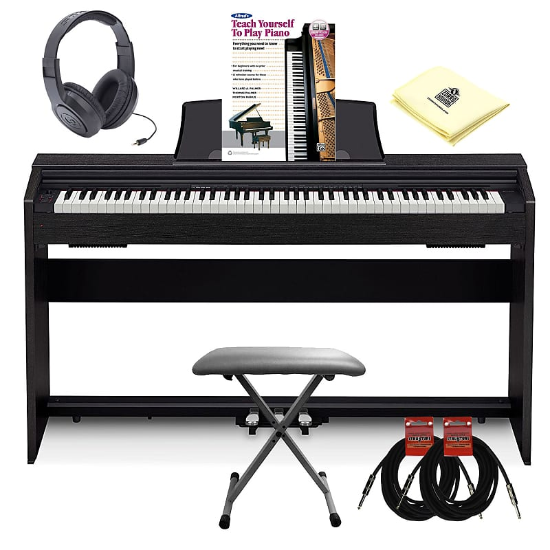 ae315d65597 Description  Shop Policies. Save With ThisBbundle  Package includes  Casio  PX860 BK Privia Digital Piano ...