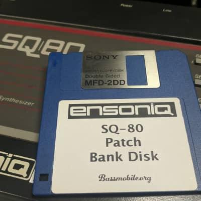 Ensoniq SQ-80 Patch Bank Disk  includes 1,200 Unique Patches by Bassmobile
