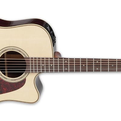 Takamine Pro Series 5 P5DC Dreadnought Acoustic-Electric Guitar Natural for sale