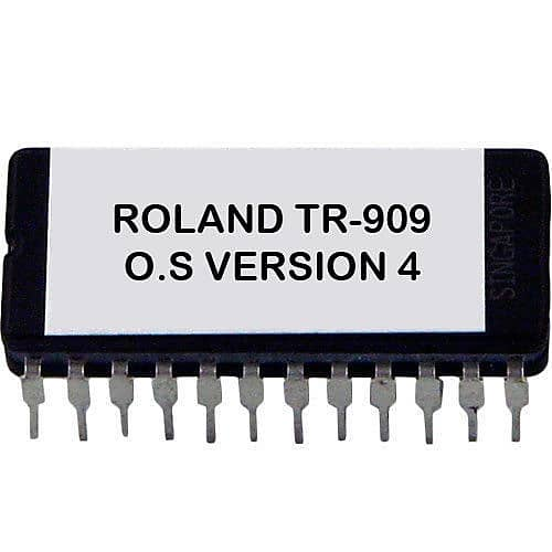 Roland tr-909 OS 4 0 EPROM Firmware Upgrade Kit [MIDI timing Fix]