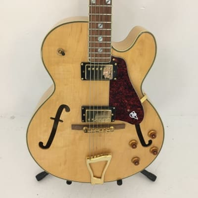 Used Canvas CFAF Full Hollow Electric Guitar for sale