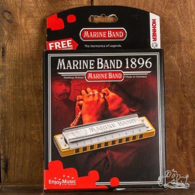 Hohner Marine Band 1896 Harmonicas Assorted Keys - B