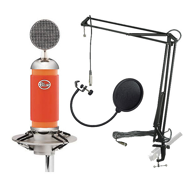 blue microphones spark condenser mic with desktop stand reverb. Black Bedroom Furniture Sets. Home Design Ideas