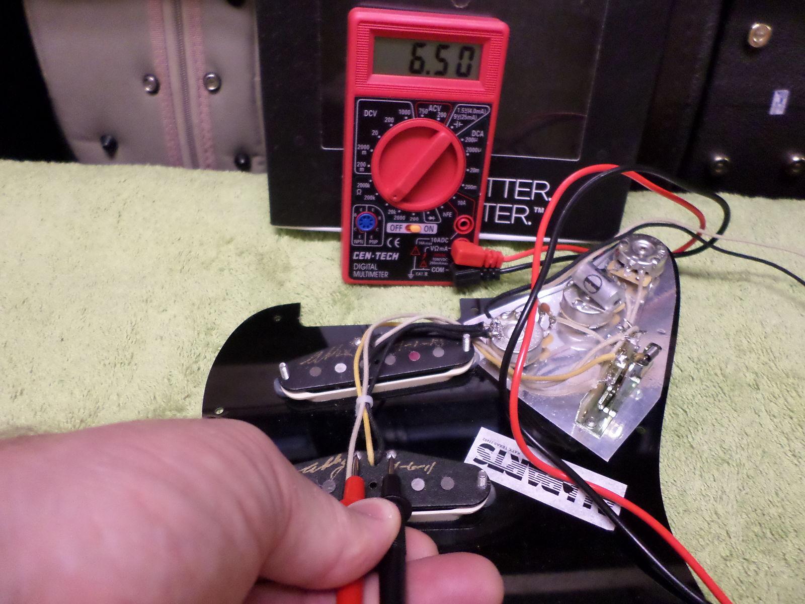 Fender Custom Shop Abigail Ybarra Abby Pickups Centech Wiring Harness