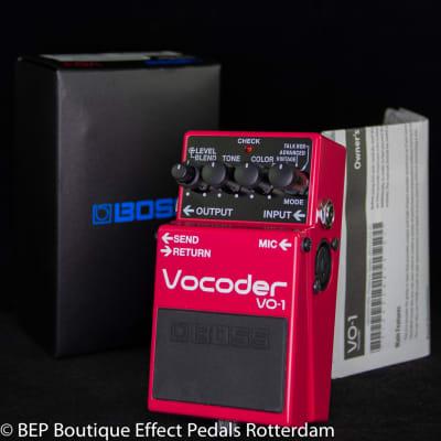 Boss VO-1 Vocoder 2015 s/n Z8G6209