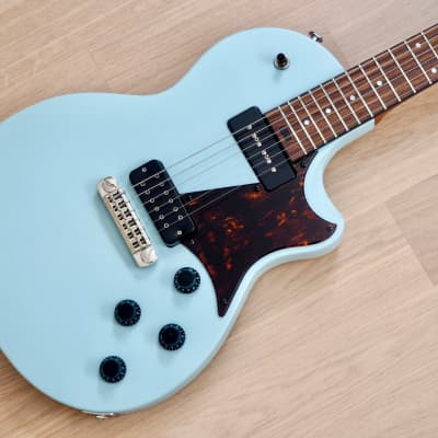 2011 Larrivee RS-2 Electric Guitar Sonic Blue Near Mint w/ P90, Super Distortion, USA-Made w/ Case for sale