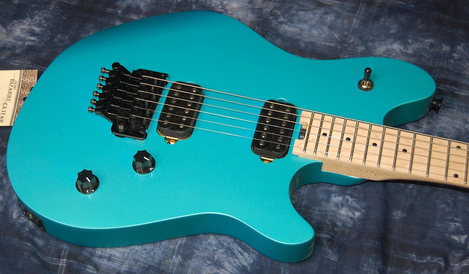Mint Evh Wolfgang Wg Standard Maple Matte Blue Frost Eddie Van Halen Authorized Dealer Save Big
