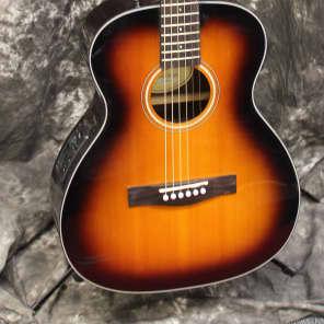 2017 Fender CT140SE Sunburst Acoustic Electric Guitar w/Case - 3 Color Sunburst for sale