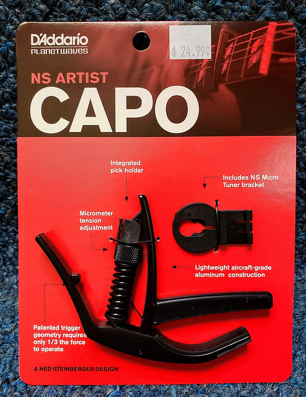 new d 39 addario ns artist capo by planet waves mountain reverb. Black Bedroom Furniture Sets. Home Design Ideas