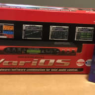Roland VariOS Variphrase Module with VC-1 & VC-2 Expansion Cards Red
