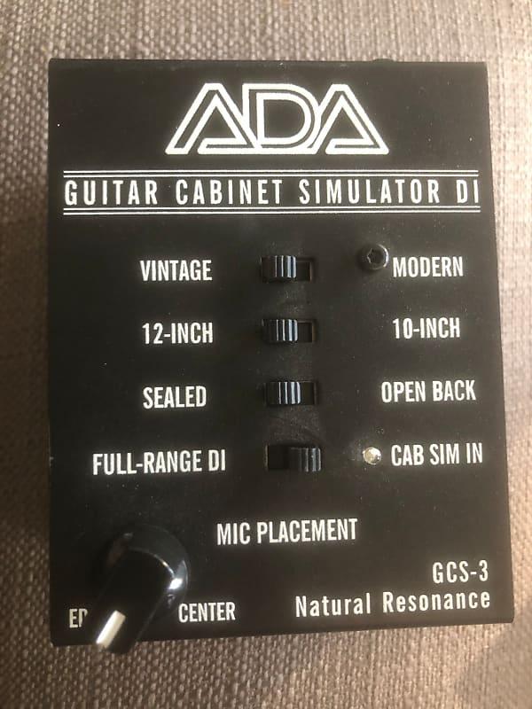 A/DA GCS-3 Guitar Cabinet Simulator   Guy's Gear Locker   Reverb