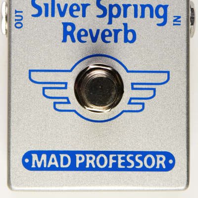 Mad Professor Silver Spring Reverb Effect Pedal for sale