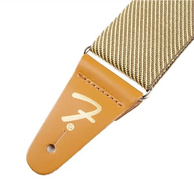 """Genuine Fender® 2"""" Vintage Tweed Guitar Strap 099-0687-000 image"""