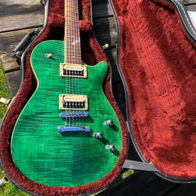 Dick Dijkman Nitrobird, Chambered, 3.6Kg, Handmade in NL. 2012 Emerald green for sale