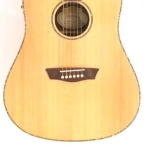 Washburn WD25SCE Solid Spruce Top Cutaway Acoustic/Electric Guitar - Blem #B993