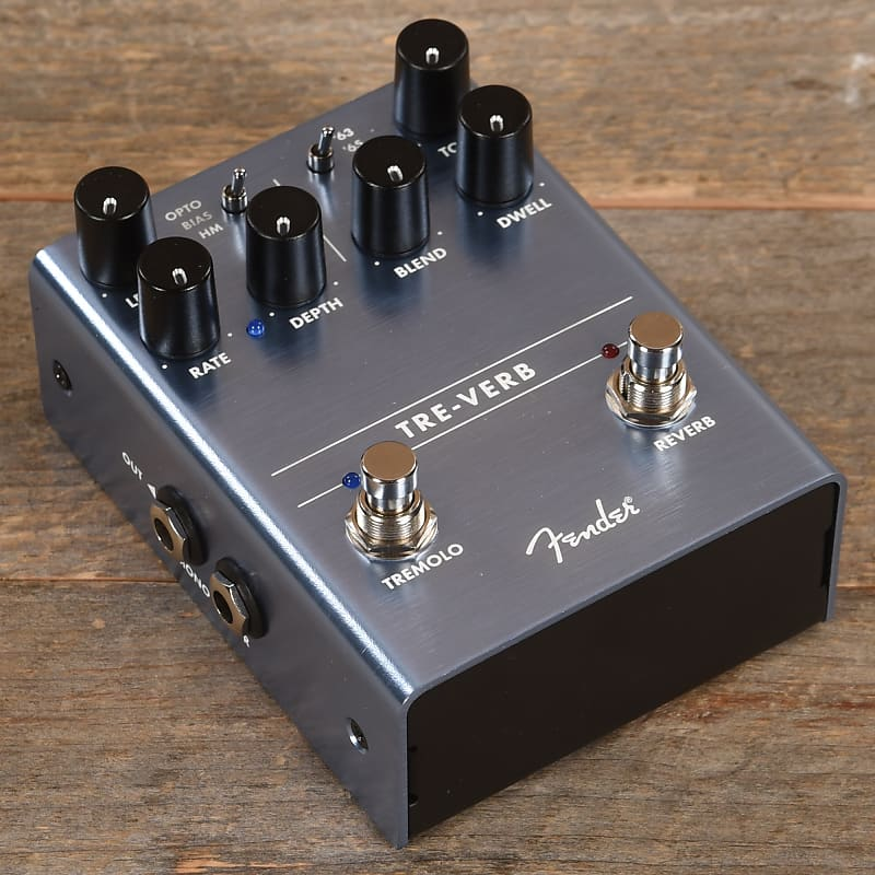 fender tre verb tremolo reverb pedal used reverb. Black Bedroom Furniture Sets. Home Design Ideas