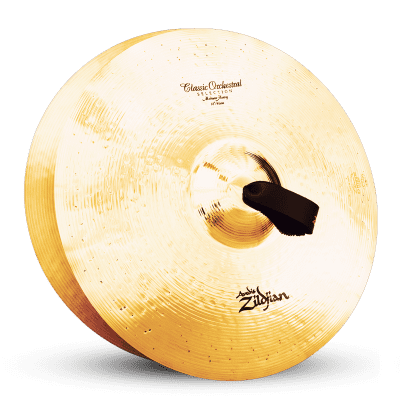 """Zildjian 18"""" A Series Classic Orchestral Selection Medium Heavy Cymbals (Pair)"""