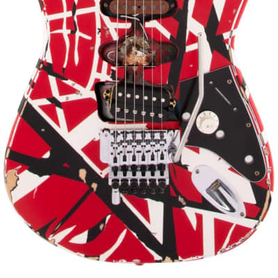 EVH Striped Series Frankie Electric Guitar for sale