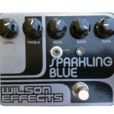 Wilson Effects Sparkling Blue Distortion/Overdrive