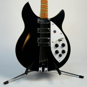 Rickenbacker 370/12V64 Jetglo New Old Stock April 1992 Serial Number D58350 for sale