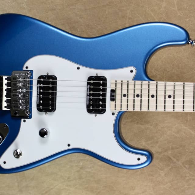 Charvel USA SoCal Custom Shop 2H Lake Placid Blue Guitar image