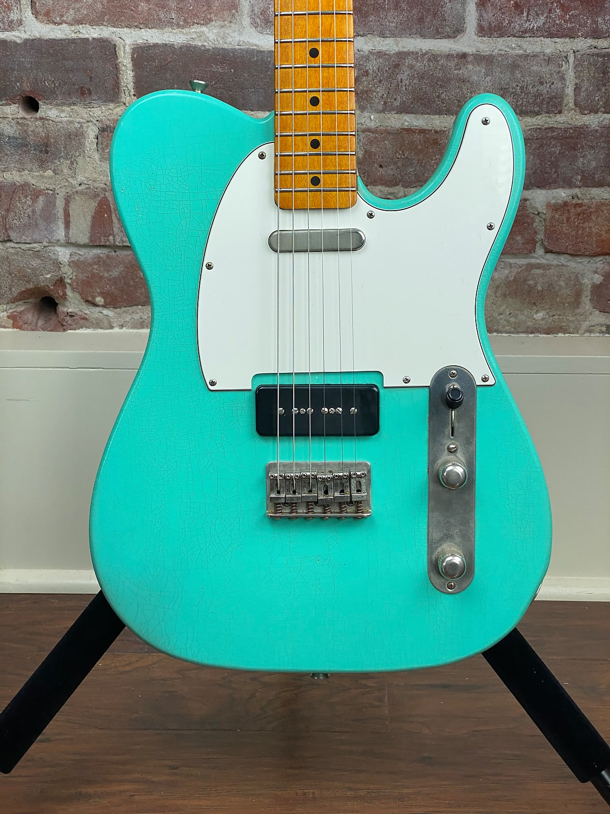 Whitfill T custom ordered with P-90 KILLER Relic Tele