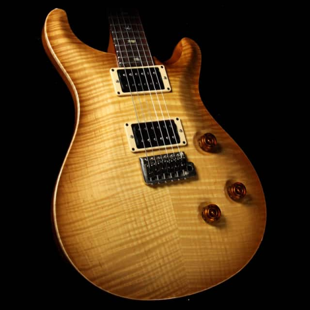 Used 2007 Paul Reed Smith Custom 24 10-Top Electric Guitar Vintage Natural image