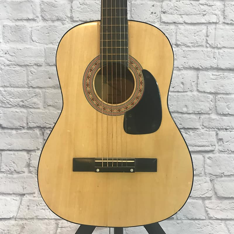 synsonics 3 4 size fg 907 acoustic guitar reverb. Black Bedroom Furniture Sets. Home Design Ideas