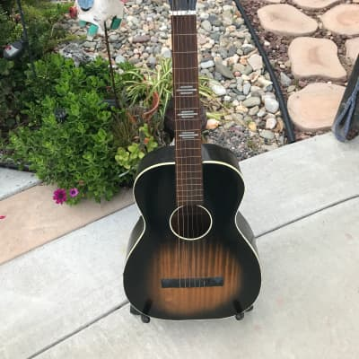 Rare Vintage 1940's Bronson Square Neck Lap Steel Guitar for sale