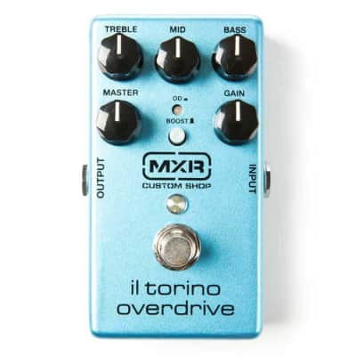 MXR CSP033 Il Torino Custom Shop Overdrive Guitar Effects Pedal