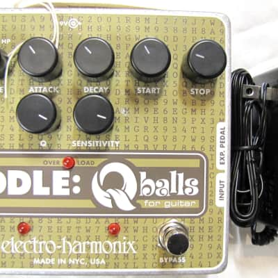 Used Electro-Harmonix EHX Riddle Q Balls Envelope Filter Guitar Effects Pedal!