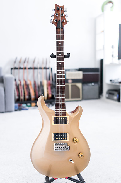 1991 PRS Custom 24 In Opaque Gold
