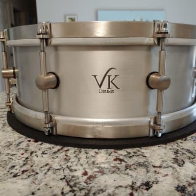 VK Aluminum Snare 14x5 Mint