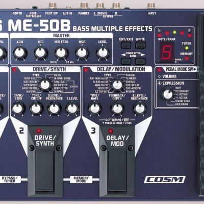 Boss ME-50B Multi-Effects Guitar Effect Pedal NEW for sale
