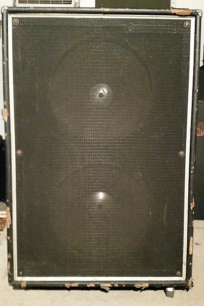 Acoustic 106 2x15 Bass Cab 1970s 8Ω | Reverb