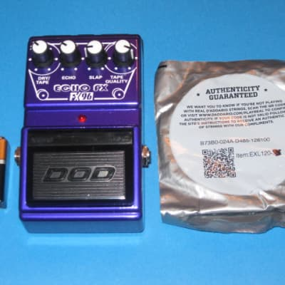 very lite use DOD FX96 ECHO FX ANALOG Delay tape reel graphic +bat&strings - rare, cool, collectible for sale