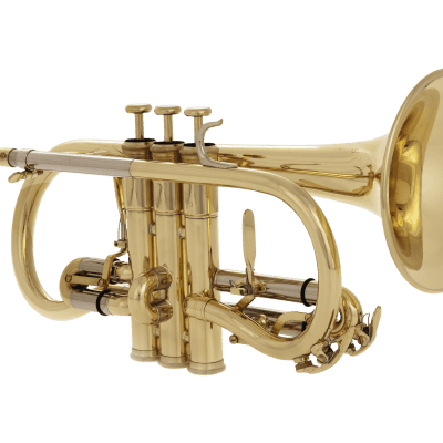 John Packer JP176 Key of Eb Soprano Cornet w/Sturdy Case, Mouthpiece & Valve Oil