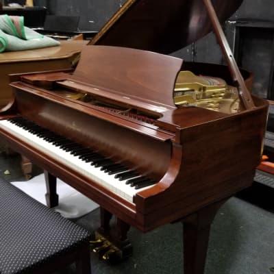"Steinway S 5'1"" Mahogany Rebuilt Grand Piano"